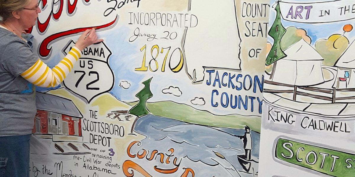 Sonya Clemmons tells inspiring southern stories through her artwork