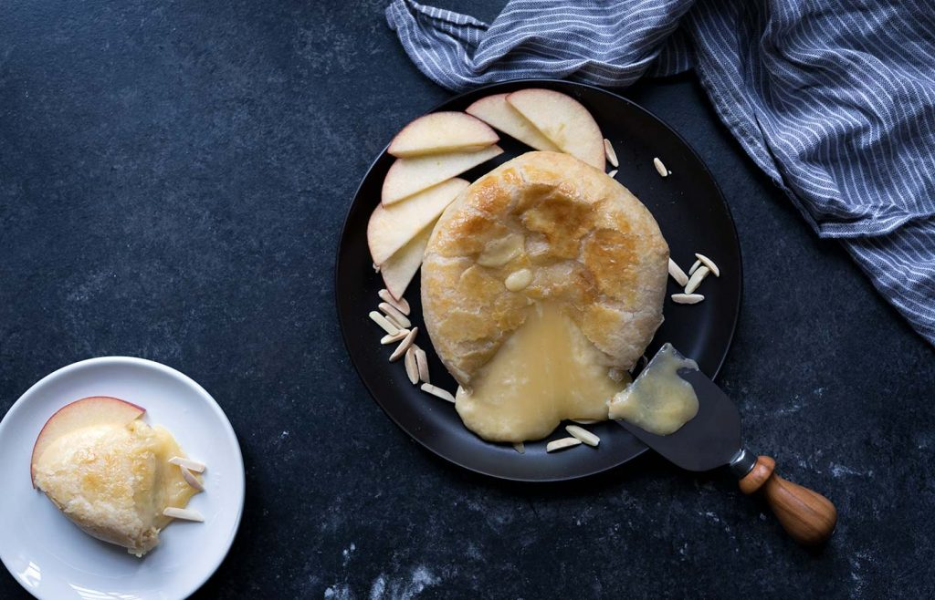 Serve Smoked Gouda in a Pastry at your Super Bowl Party