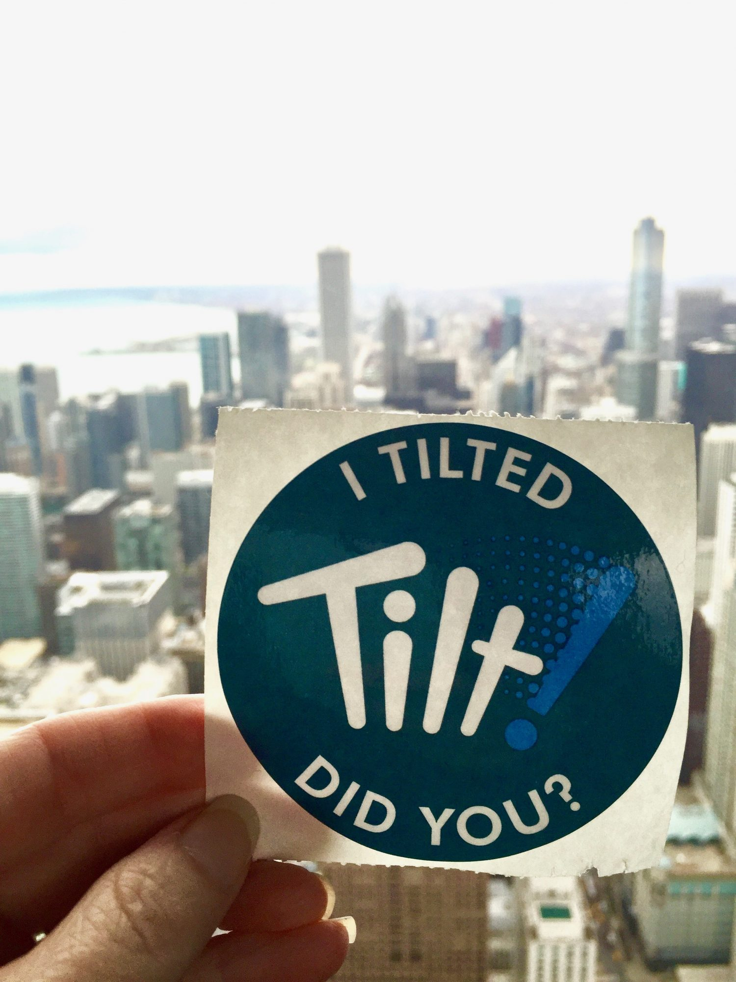 I Must Have Been Out of My Mind, I Tilted Off the 94th Floor