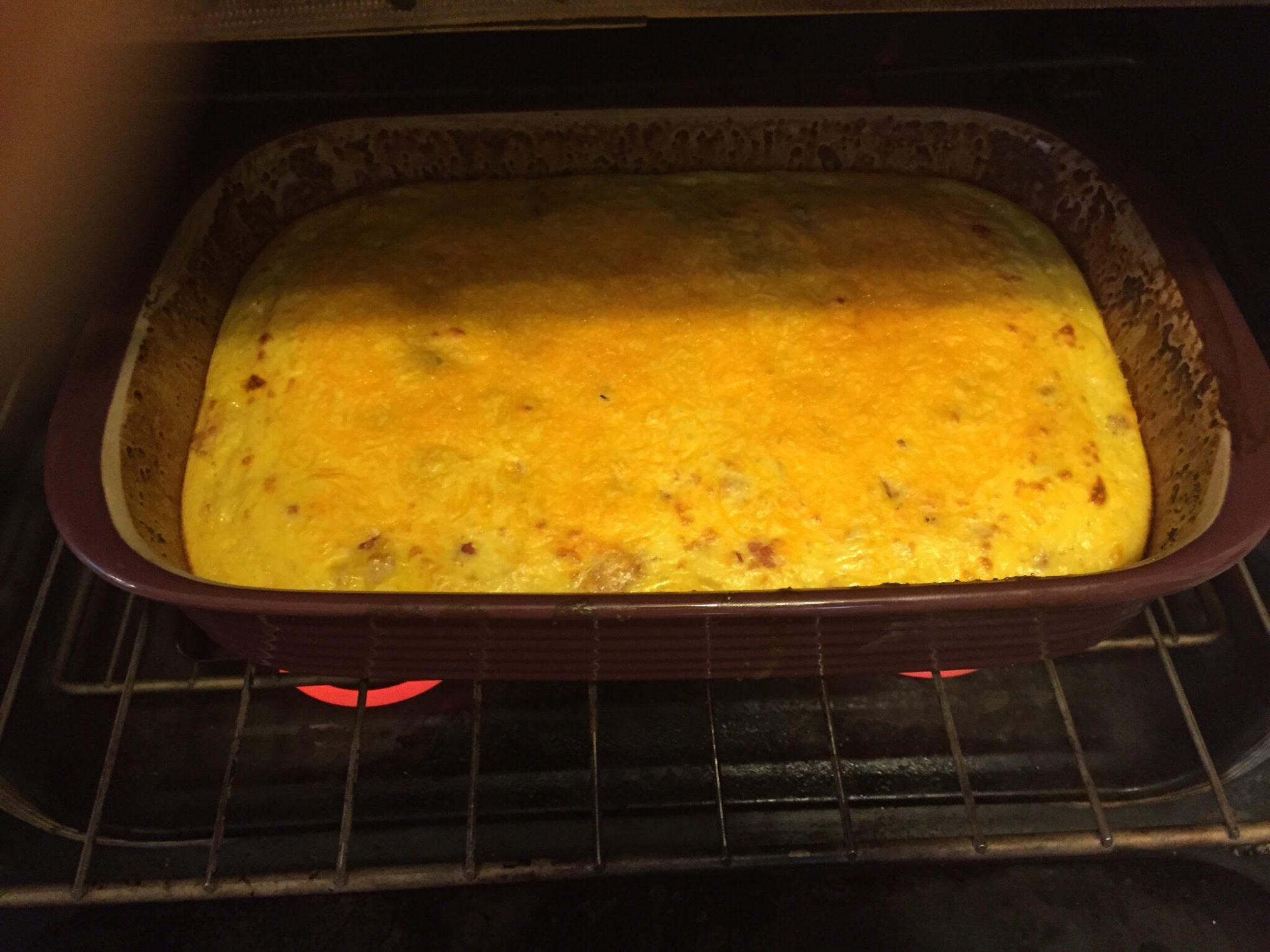 The Southern Breakfast Casserole On Our Holiday Table