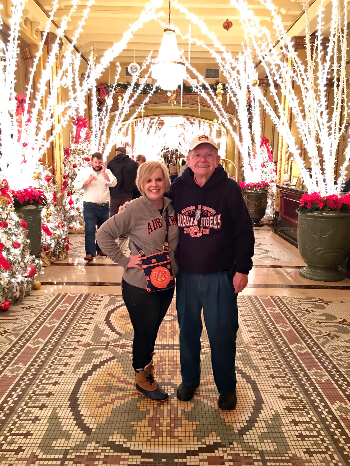 Auburn Football and the Christmas Holiday in One of My Favorite Cities; Doesn't Get Much Better!