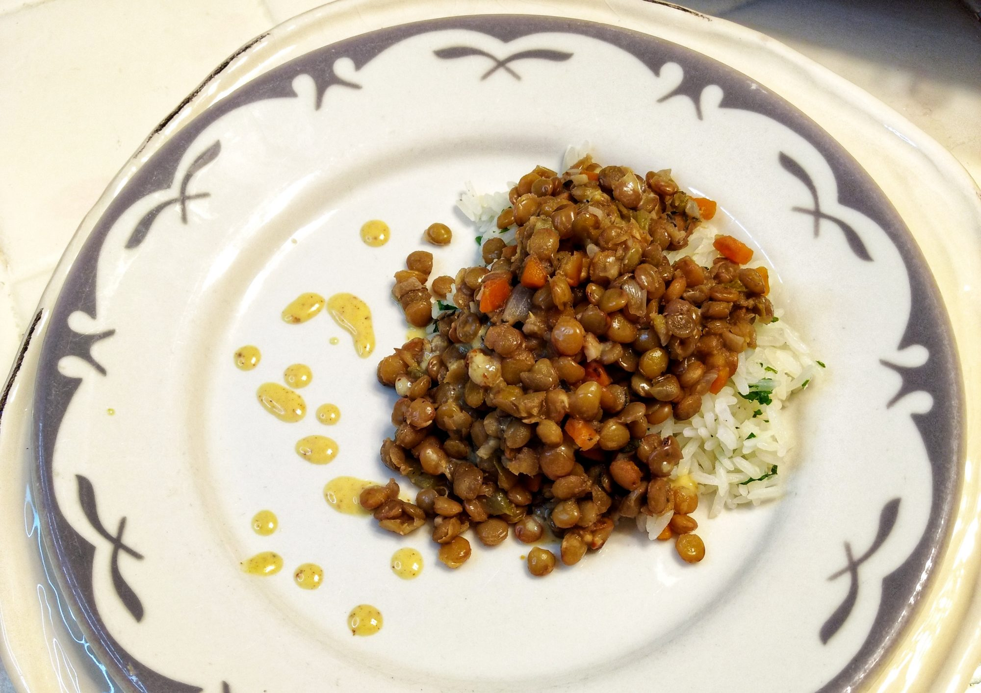 Warm Lentils on a Cold Night