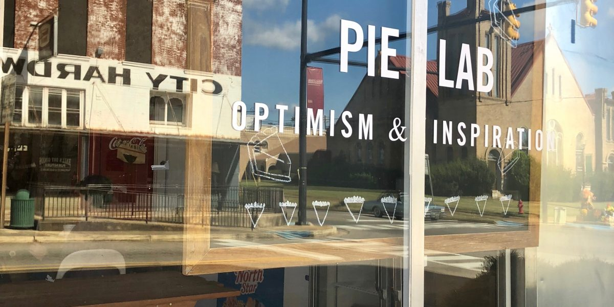 Stop by PieLab in Greensboro, Alabama for a slice of pie, sense of community and joyful conversation