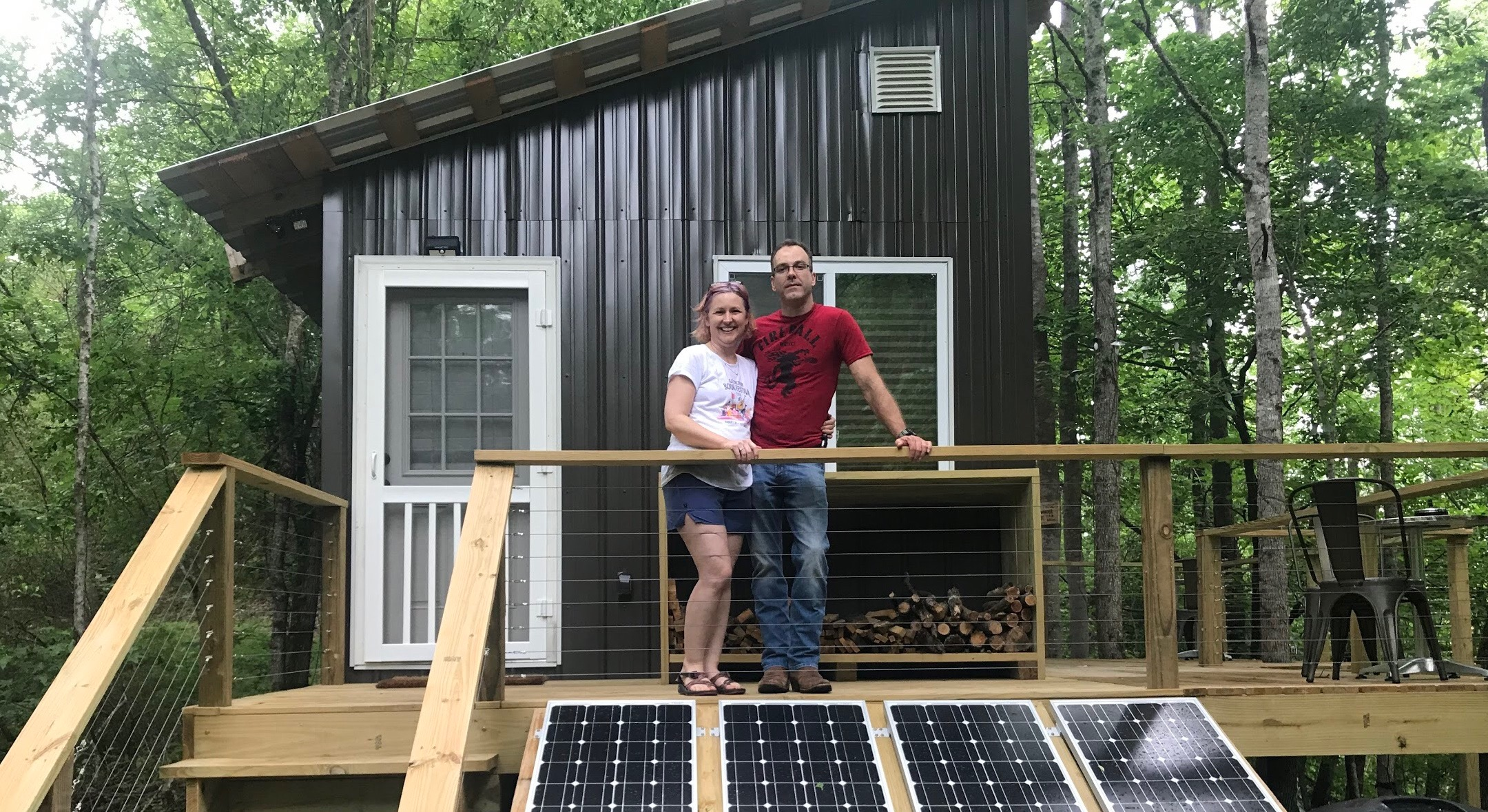 Escape to this tiny home eco-retreat on 85 acres in North Central Alabama